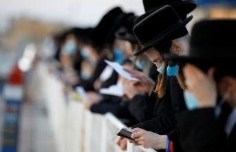 İsrail'de Kovid-19 önlemlerine uymayan 13 Ultra-Ortodoks Yahudi gözaltına alındı