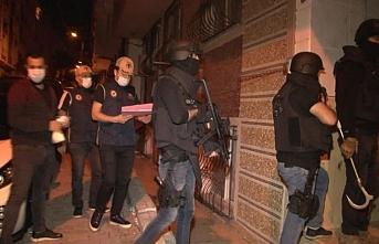 İstanbul'da DEAŞ ve HTŞ terör örgütlerine yönelik operasyon