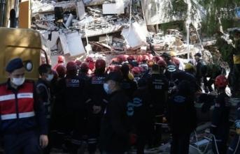 İzmir depreminde can kaybı 36 oldu