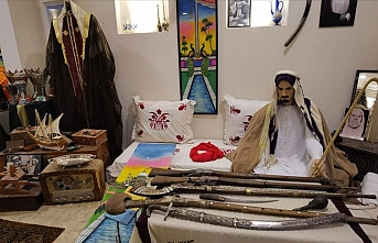 Katarlı gencin çocukluk tutkusu, kişisel müzeye dönüştü