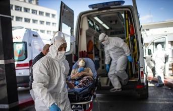 Koronavirüs salgınında yeni hasta sayısı 1429