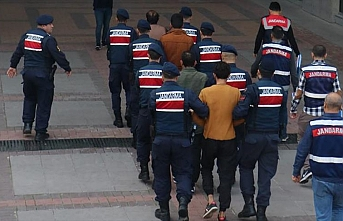 Mersin'de terör örgütü DEAŞ operasyonunda 10 zanlı yakalandı