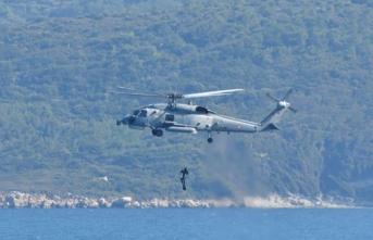 NATO ve müttefik ülkelerin katılımıyla yapılan tatbikatın deniz safhası tamamlandı