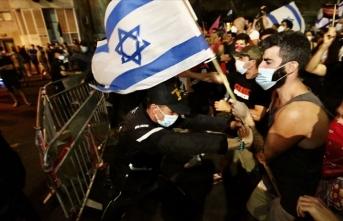 Netanyahu karşıtı gösteriler yasak dinlemiyor