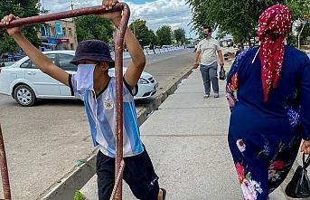 Özbek lider yoksul kadın ve gençlerin listesini istedi