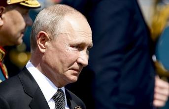 Putin'den taziye mesajı