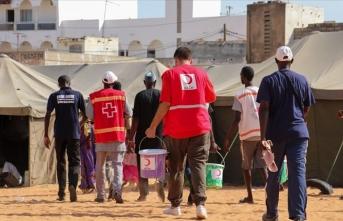 Senegal'e yardım tamamlandı