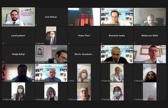 TİKA'dan Kosovalı hekimlere Kovid-19 eğitimi