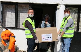 TİKA'dan Kuzey Makedonya'daki ilkokullara Kovid-19'a karşı destek