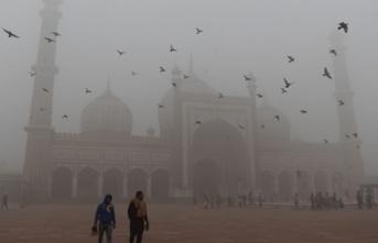 Yeni Delhi'de hava kirliliğiyle mücadele kampanyası başlatıldı