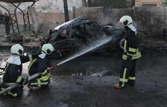 Afrin'de bombalı terör saldırısı