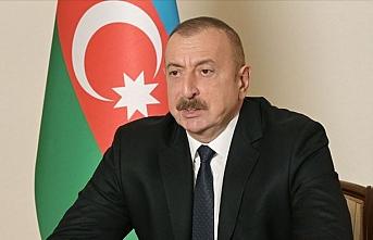 Aliyev'den Ağdam açıklaması