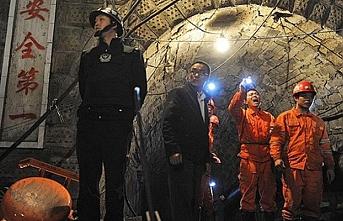 Çin'de madeni su bastı