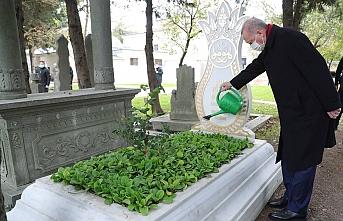 Cumhurbaşkanı Erdoğan'dan mezar ziyareti
