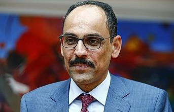 Cumhurbaşkanlığı Sözcüsü Kalın Brüksel'de temaslarda bulundu