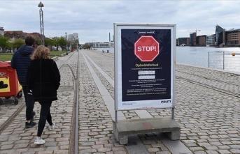 Danimarka'da rekor vaka sayısı açıklandı