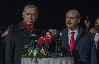 Erdoğan Maraş'ta konuştu: Kuzey Kıbrıs'a yapılan adaletsizliği hazmetmek mümkün değil