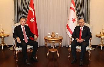Erdoğan 'farklı ülkelerin bakışını da değiştirir' deyip Ersin Tatar'a yeni bir Cumhurbaşkanlığı makamı önerdi