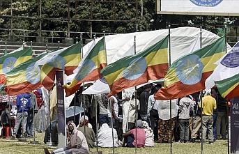 Etiyopya'da ordunun operasyonuna destek gösterisi
