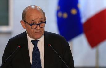 Fransa Dışişleri Bakanı'ndan 'İslam'a saygı duyuyoruz' mesajı