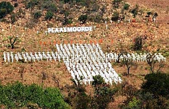 Güney Afrika'da 'beyaz' çiftçi gerginliği