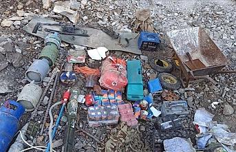 Irak'ın kuzeyinde çok sayıda silah ve mühimmat ele geçirildi