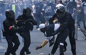 Irkçı şiddet uygulayan polisler ifade verdi