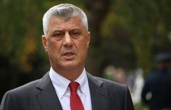 İstifa eden Kosova Cumhurbaşkanı Thaçi hakim karşısında