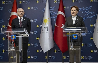 Kılıçdaroğlu, İYİ Parti lideri MeralAkşener'i ziyaret etti