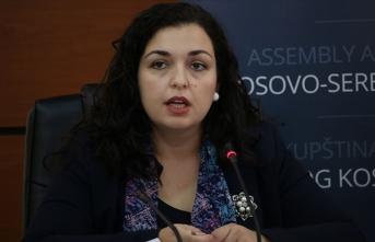 Kosova'da cumhurbaşkanlığı görevine  Vjosa Osmani vekalet edecek