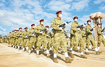 Libya ordusuna 3 bin 500 asker