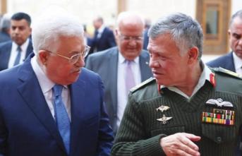 Mahmud Abbas ile Kral Abdullah görüştü