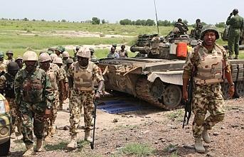 Nijerya'da askeri araç mayına çarptı