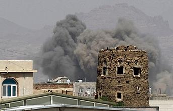Sana'ya 17 hava saldırısı düzenlendi