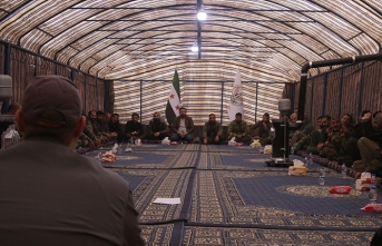 SMO bileşenlerinden Tel Abyad ilçesinde 'koordinasyon' toplantısı