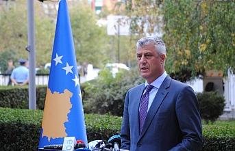 Thaçi'nin avukatından Kosova Özel Savcılığından savaş suçuna ilişkin davanın 2022'de başlaması talebi