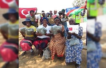 TİKA'dan Namibyalı çiftçilere sıtmayla mücadelede destek