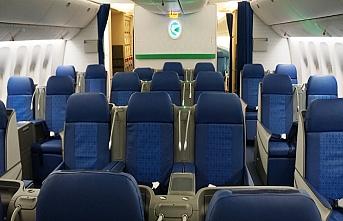 Türkistan Havalimanı'nda ilk uçuş İstanbul'a...