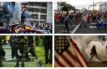 2020 yılında ABD'de salgın, ırkçılık ve polis şiddeti gündemdeydi