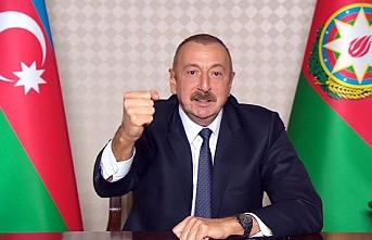 Aliyev açıkladı! Karabağ'da tehlike devam ediyor