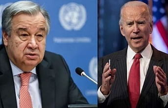 Biden, BM Genel Sekreteri Guterres ile görüştü