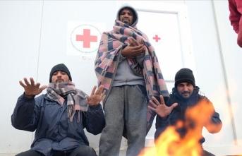 Bosna Hersek'teki göçmenler zor durumda