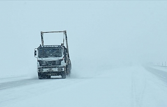 Doğu Anadolu'da 471 bölgenin ulaşımı kapandı