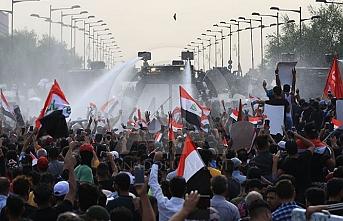 Irak'ta yeni protesto! Güvenlik güçleri devreye girdi