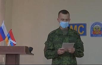Karabağ'da skandal görüntü! Rus askerleri...