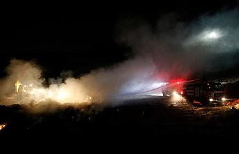 Kayseri'de mobilya fabrikasında yangın