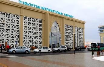 Kazakistan'da havalimanına Türk imzası!