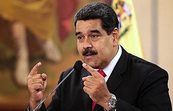 Maduro zaferini ilan etti!