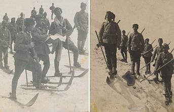 Sarıkamış Harekatı'ndan tarihi fotoğraflar ortaya çıktı!
