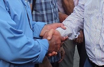 Siirt'te husumetli aileler barış yaptı
